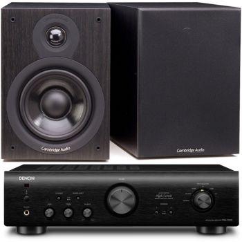 DENON PMA-720-BK+Cambridge SX50 BK
