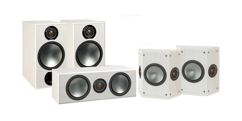 monitor audiio kit bronze 2 5 0 white