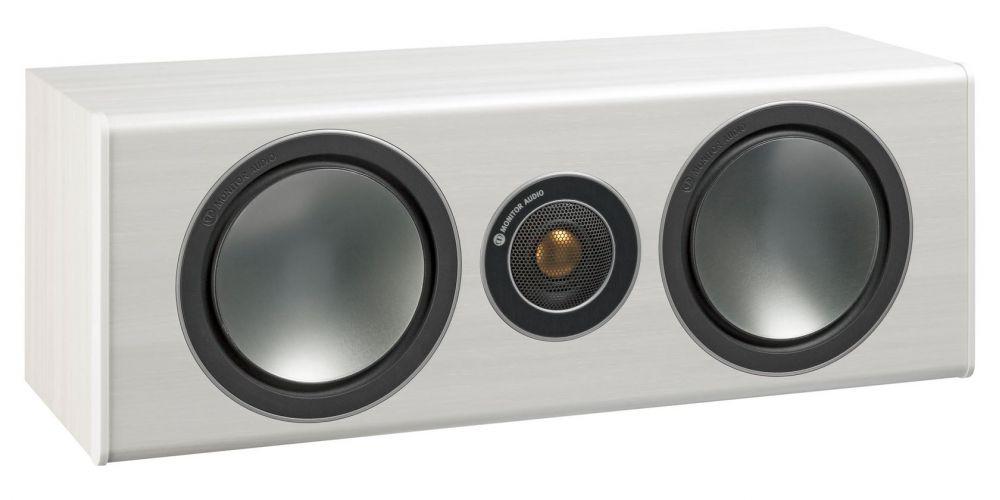 monitor audio bronze centre wht