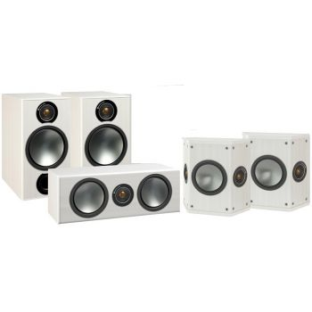 MONITOR AUDIO Kit  BRONZE 2. 5.0 White , Kit BRONZE2 + BRONZECENTER + BRONZE FX