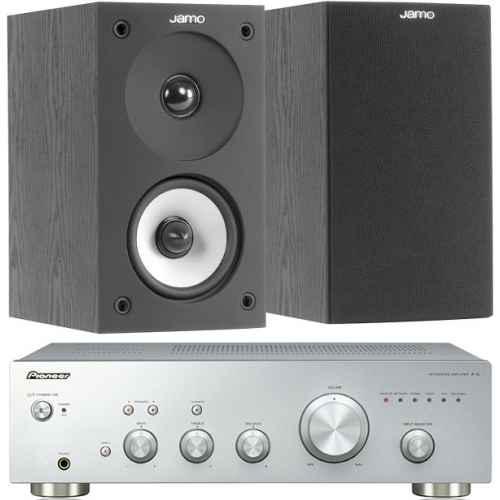 pioneer a10 silver amplificador jamo s622