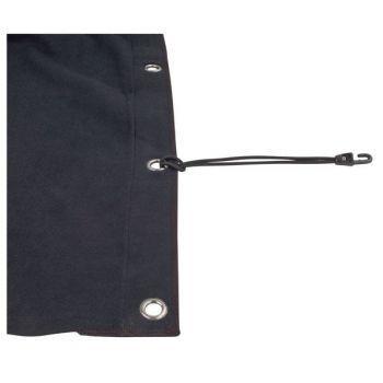 Showtec Backdrop Black Telón de Fondo 3 x 9 m 89030