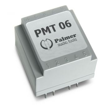 Palmer Pmt 06 Transformador De Splitter Balanceado Para Nivel De Línea