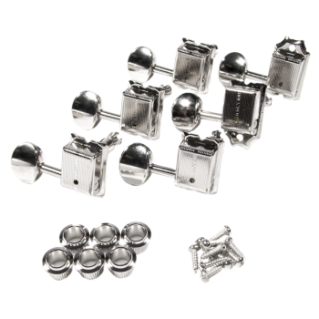 Fender Pure Vintage Guitar Tuning Machines Nickel-Chrome 6