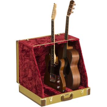 Fender Classic Series Case Stand 3 Guitars Tweed