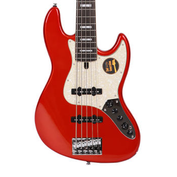 Marcus Miller V7 Alder-5 Bright Metallic Red 2nd Gen Bajo Eléctrico 5 Cuerdas
