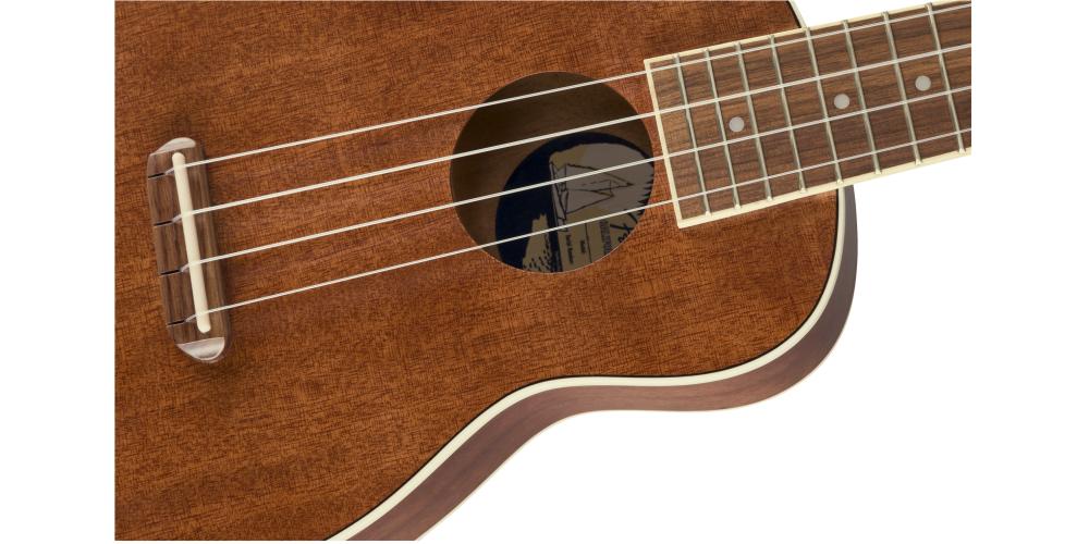 fender seaside soprano ukulele pack cuerdas