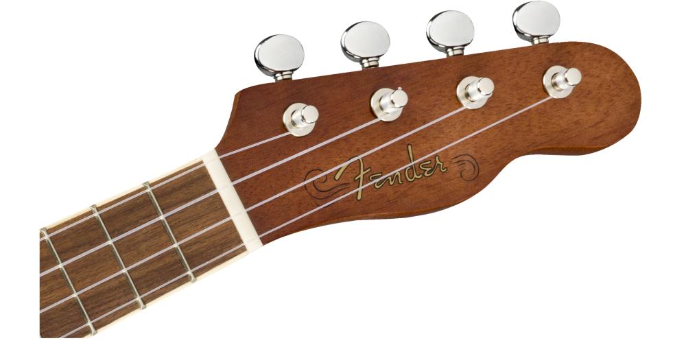 fender seaside soprano ukulele pack mastil