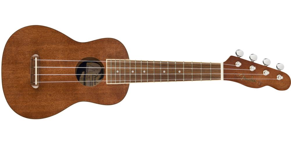 fender seaside soprano ukulele pack oferta