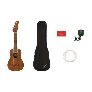 Fender Seaside Soprano Ukulele Natural Pack