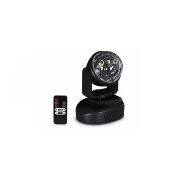 Fonestar MOV-18L Cabeza Móvil LED con 6 LED RGB