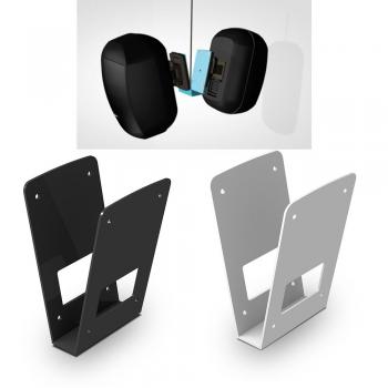 APART MASKCV-W Soporte en forma de V para dos altavoces MASK4C/6C Blanco