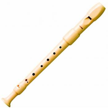 Hohner 9517 Flauta Plástico Digitación Barroca 2 piezas