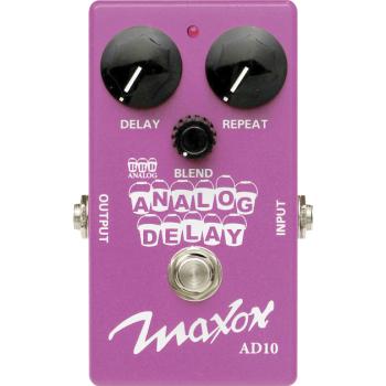 Maxon AD-10 Analog Delay Pedal Efectos Guitarra