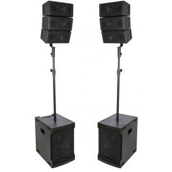 Ibiza Sound CUBE212A-ARRAY Sistema de Sonorización Line Array