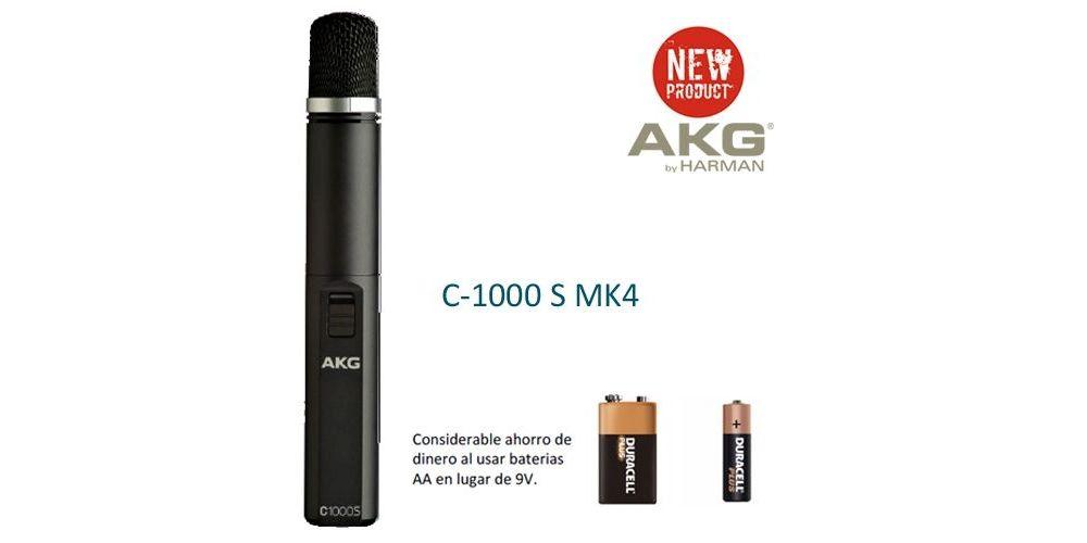 AKG C1000 S MK4 microfono