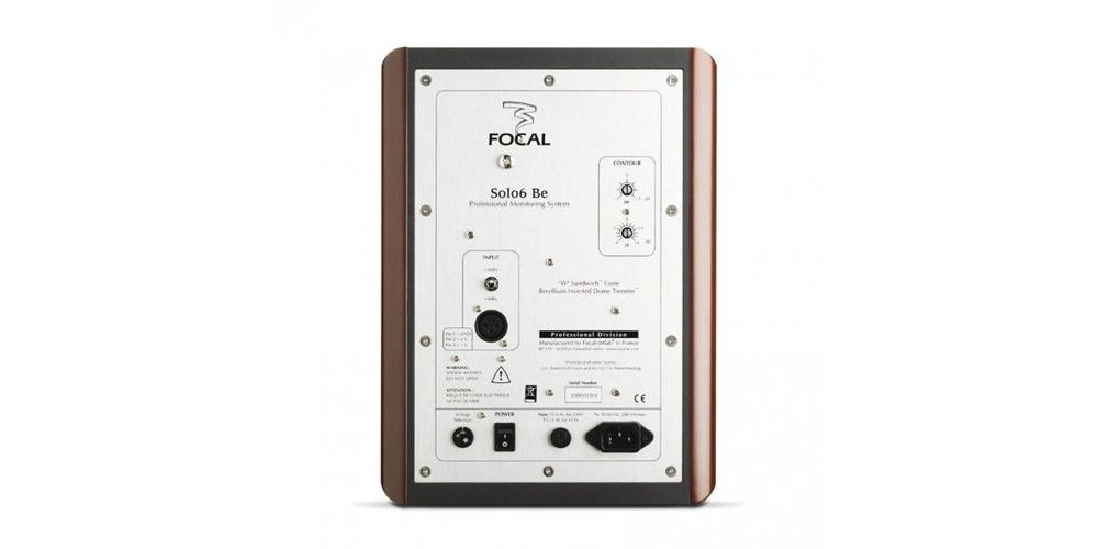 FOCAL SOLO6-BE Monitor Estudio, Cereza Und