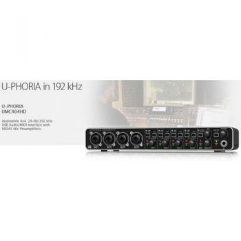 BEHRINGER UMC404HD U-PHORIA  Interface de Audio/Midi USB, UMC-404HD