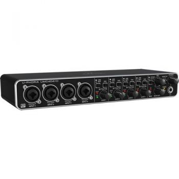 BEHRINGER UMC404HD U-PHORIA  Interface de Audio/Midi USB, UMC-404HD ( REACONDICIONADO )