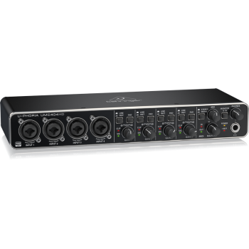 BEHRINGER UMC404HD U-PHORIA  Interface de Audio/Midi USB, UMC-404HD