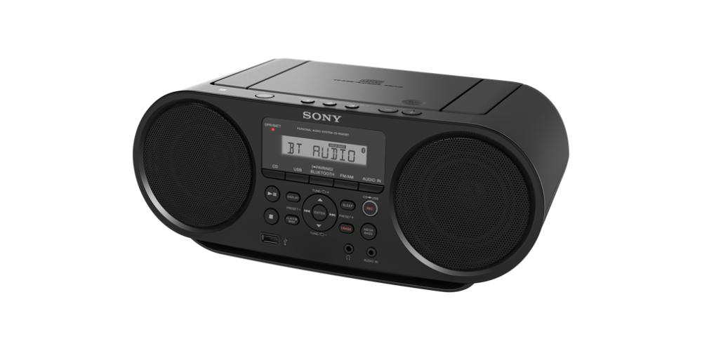 sony ZS RS60 BT Radio CD USB Bluetooth NFC portable