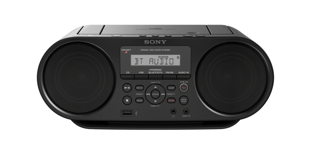 sony ZS RS60 BT Radio CD USB Bluetooth NFC