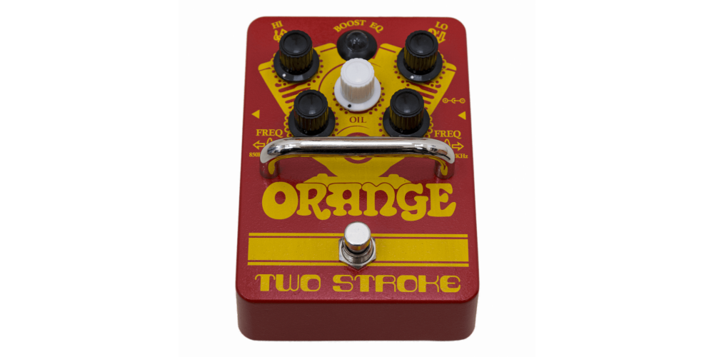 Orange Two Stroke Pedal fr