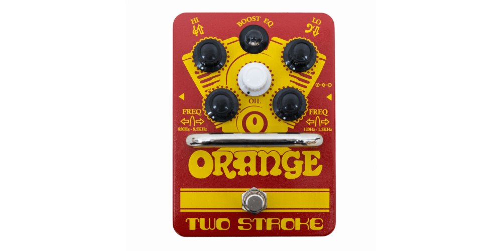 Orange Two Stroke Pedal