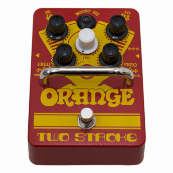 Orange PEDAL BOOST EQ TWO STROKE