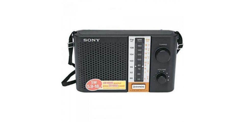 Sony ICF F12S 3 Band Portable Transistor Radio