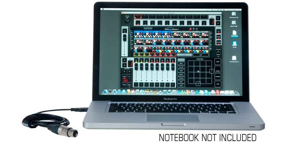 american dj emulation dmx software