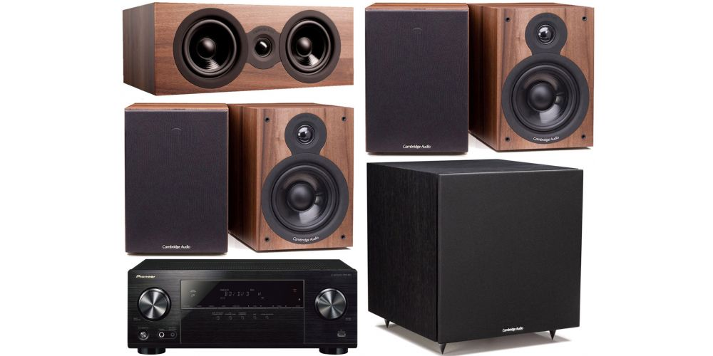 pioneeer vsx 531 cambridge SX50 Walnut cinema pack altavoces sx50 sx70 sx120