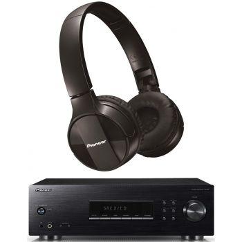 PIONEER SX-20K Receptor Stereo + SE-MJ553BT-K Bluetooth