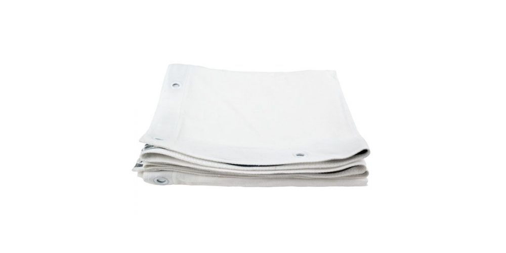 showtec square cloth white 89062