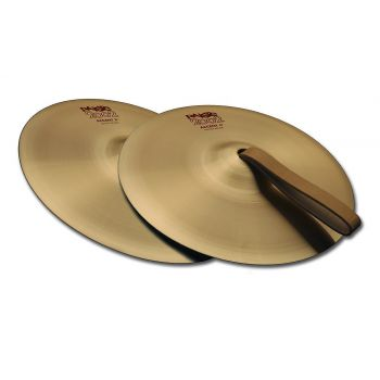 Paiste 08 2002 ACCENT CYMBAL WITH LEATHER STRAP PAR