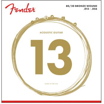 Fender 80/20 Bronze Acoustic Cuerdas 70M .013-.056 (6)