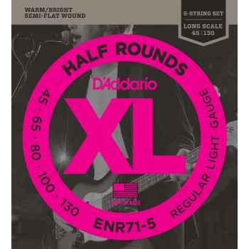 D´addario ENR71-5 Half Rounds 5 cuerdas para bajo