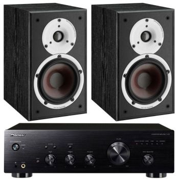 Pioneer A-20 K+Dali Spektor 2 Bk Conjunto Audio