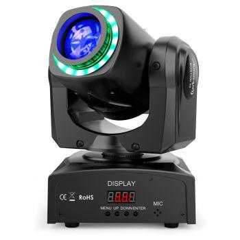 Audibax Boston 30 Cabeza Móvil Spot 30w + Anillo LED
