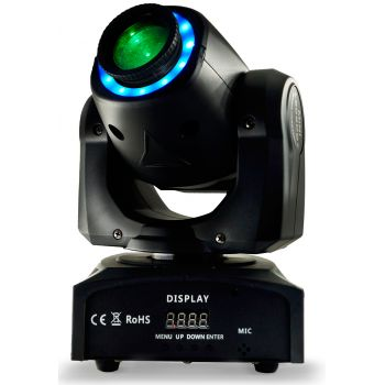 Audibax Boston 30 Cabeza Móvil Spot 30w + Anillo LED ( REACONDICIONADO )