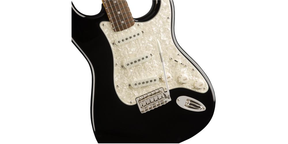 fender squier classic vibe 70s stratocaster laurel fingerboard black tremolo