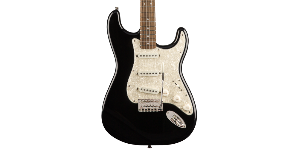 fender squier classic vibe 70s stratocaster laurel fingerboard blk