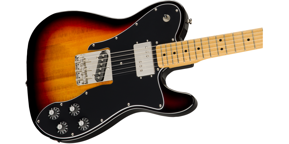 fender classic vibe 70s telecaster custom maple fingerboard 3 color sunburst cuerpo