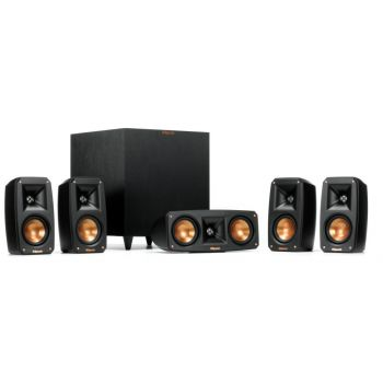 Klipsch REFERENCE THEATER PACK 5.1 BLACK, Altavoces Home Cinema