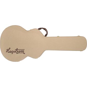 Hagstrom C-62 Viking Bass-Baritone Hardcase Estuche de Transporte para Guitarra Eléctrica