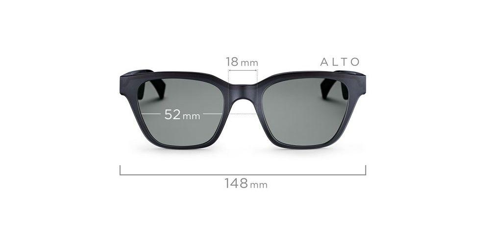 bose alto frames gafas de sol con audio