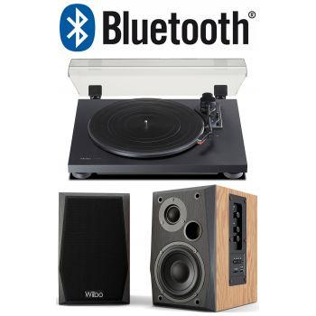TEAC TN-180 BT Black+Wiibo NEO 50 Conjunto Audio Bluetooth