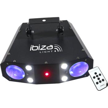 Ibiza Light COMBO-3IN1 Eecto Cpmbinado MoonFlower Strobo y Laser