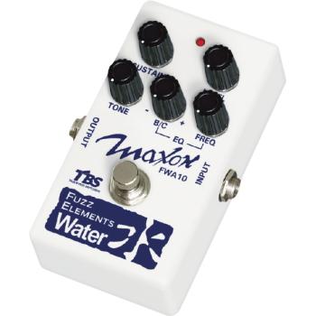 Maxon FWA-10 Fuzz Elements Water Pedal Efectos Guitarra