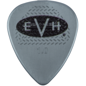 EVH Púas Signature Grey-Black Pack 6 Unidades 1 mm